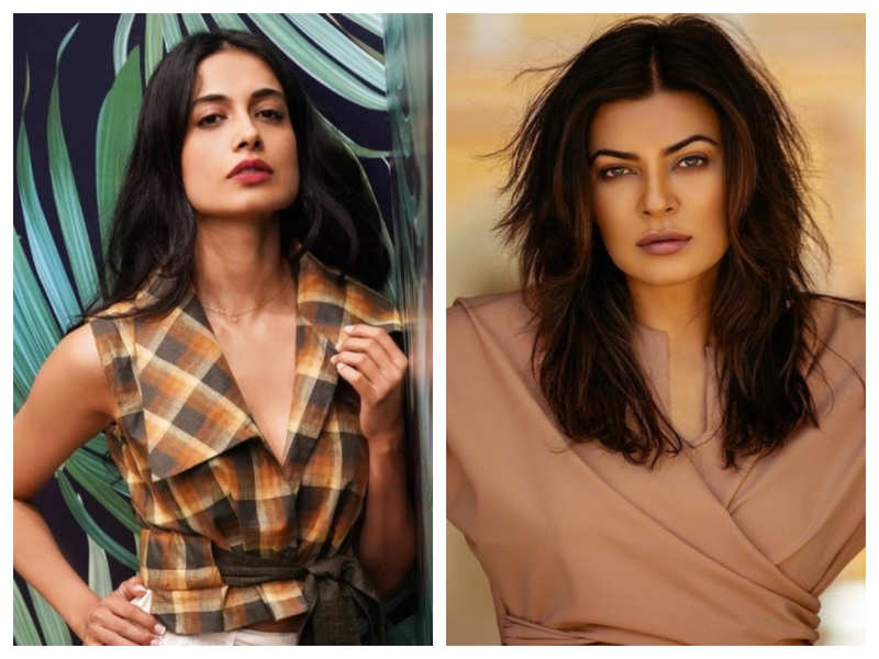 Sarah Jane Dias: I really look up to Sushmita Sen; she is the epitome of beauty, strength, and resilience