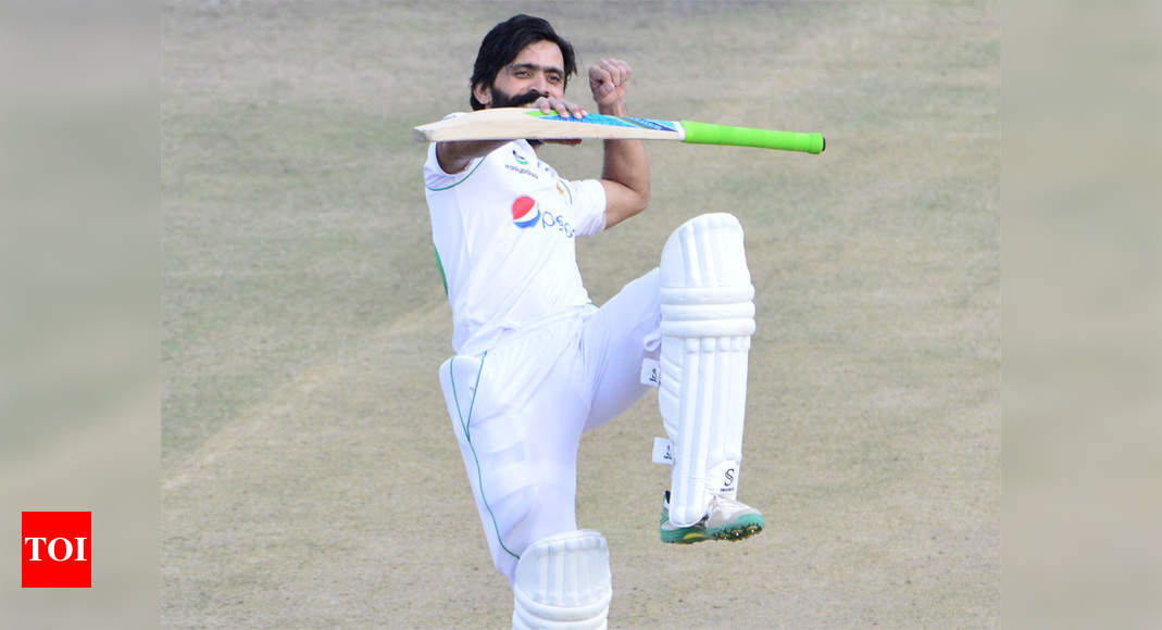 1st Test: Ton-up Fawad Alam puts Pakistan in command against Zimbabwe | Cricket News – Times of India