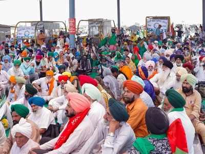 Farmers protesting to celebrate May Day as Mazdoor Kisan Ekta Diwas   India News
