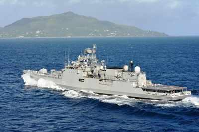 India Deploys Seven Warships to Transport Large Oxygen Containers | India News