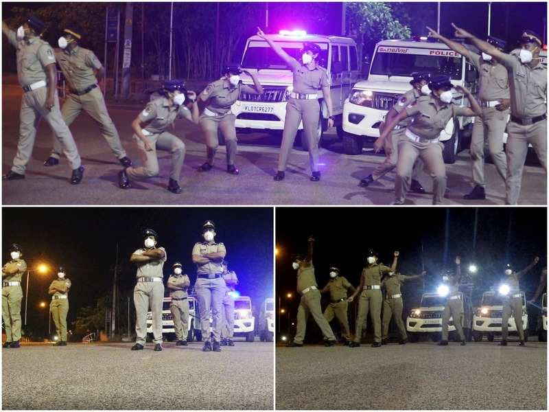 Kerala Police's dance video on Covid awareness goes viral