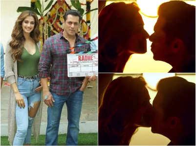 Salman Khan on kissing Disha Patani