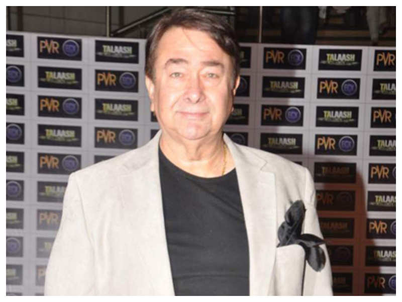 Just in! Randhir Kapoor from the hospital: I am recovering well and should be home soon