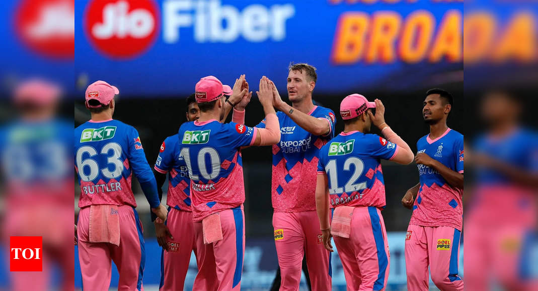 IPL Live Score 2021, RR vs SRH: Rajasthan Royals, Sunrisers Hyderabad clash in bid to change fortunes  – The Times of India