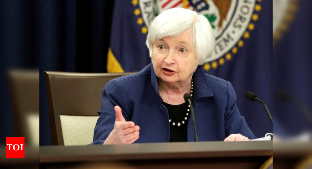 US Treasury's Janet Yellen tamps down inflation fears over Biden spending plan – Times of India -India News Cart
