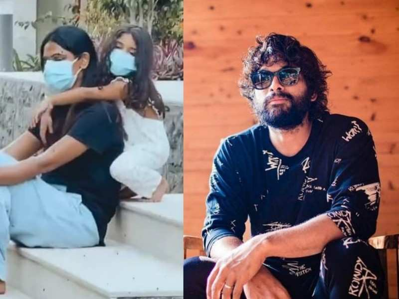 Allu Arjun shares a video of Sneha Reddy and Arha from isolation