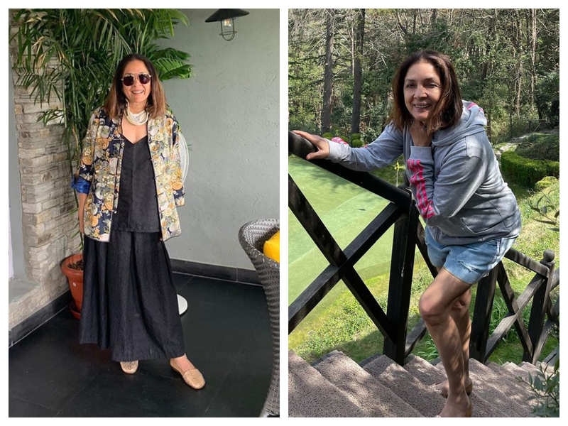 Pictures and videos that will take you inside Neena Gupta's warm and rustic house in Mukteshwar