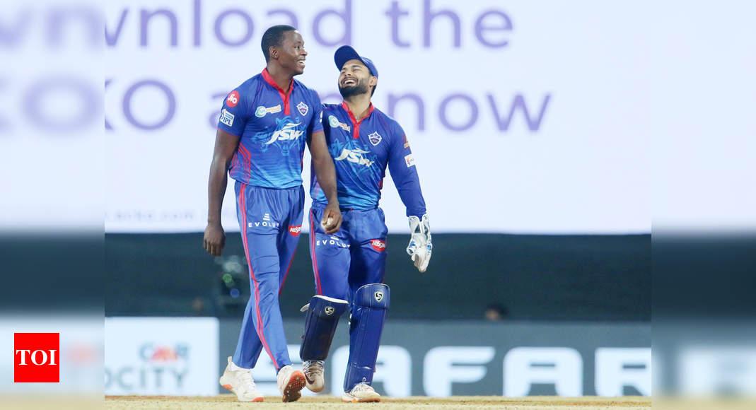IPL 2021: Atmosphere is great in Delhi Capitals' dressing room, says Kagiso Rabada | Cricket News – Times of India