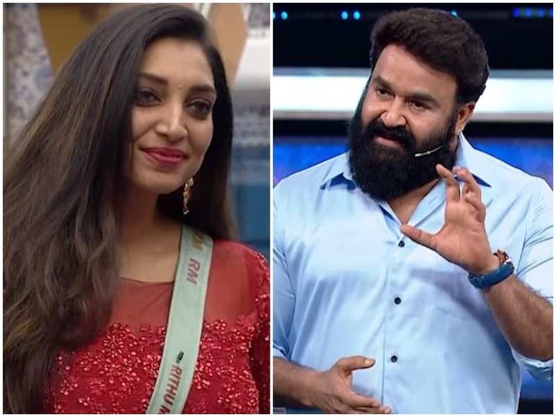 Bigg Boss Malayalam 3: Mohanlal gives Rithu Manthra a special gift