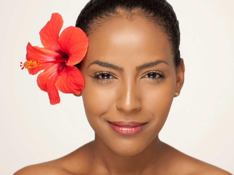 Homemade floral face packs for a glowing skin
