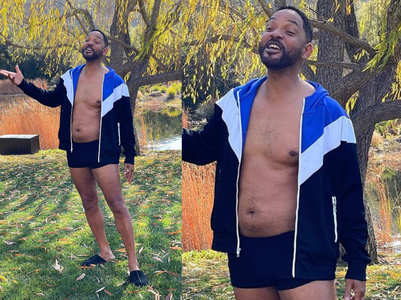 Smitten by Smith: Will Smith brings dad bod in fashion again