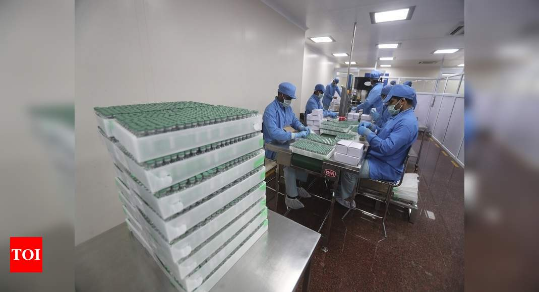 Covaxin: Serum Institute of India to invest Rs 2,400 crore in Britain as part of India-UK initiative | World News – Times of India