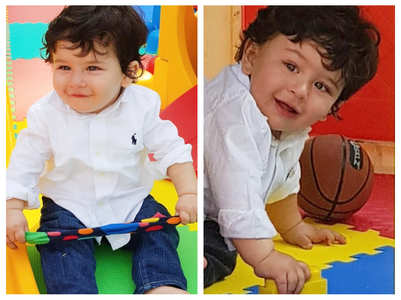 Unseen pics from Taimur's first birthday