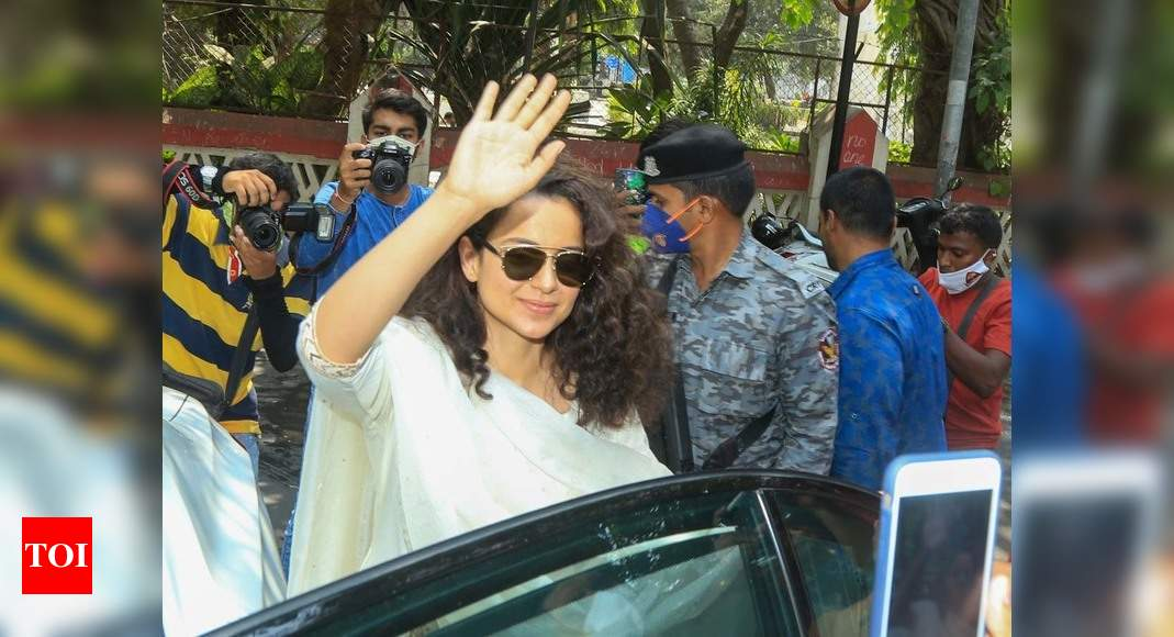 Kangana Ranaut's Twitter account permanently suspended – Times of India ►