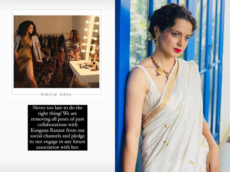 After Twitter suspension, fashion designers boycott Kangana Ranaut
