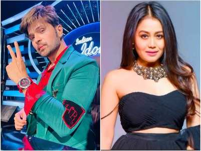 Neha, Himesh resume shooting for Indian Idol