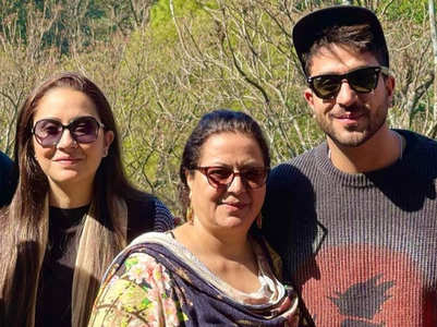 Aly Goni's family battles with COVID-19