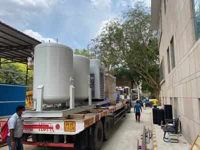 , Delhi: DRDO begins installing oxygen plants at AIIMS, RML hospital, The World Live Breaking News Coverage & Updates IN ENGLISH