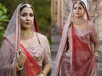 Hina Khan's bridal look is so royal