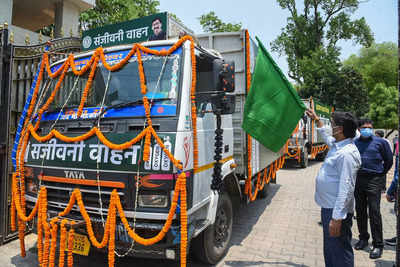 Jharkhand CM Designates Sanjeevani Trucks for Emergency Oxygen Supply to Ranchi Hospitals | India News