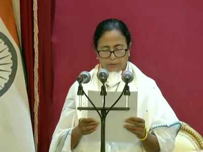 Mamata Banerjee Sworn in as CM of Bengal for Third Time, Sworn in in Bengali | India News
