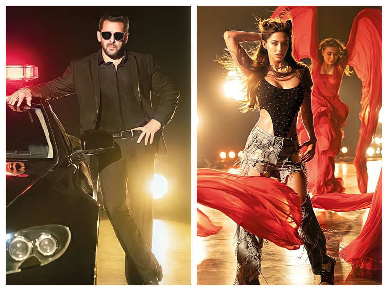 'Radhe: Your Most Wanted Bhai' title track: The peppy song featuring Salman Khan and Disha Patani is a treat for their fans