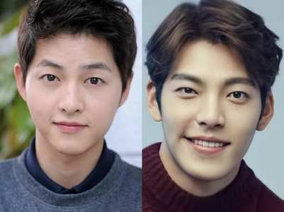 KDrama celebs and their childhood pics