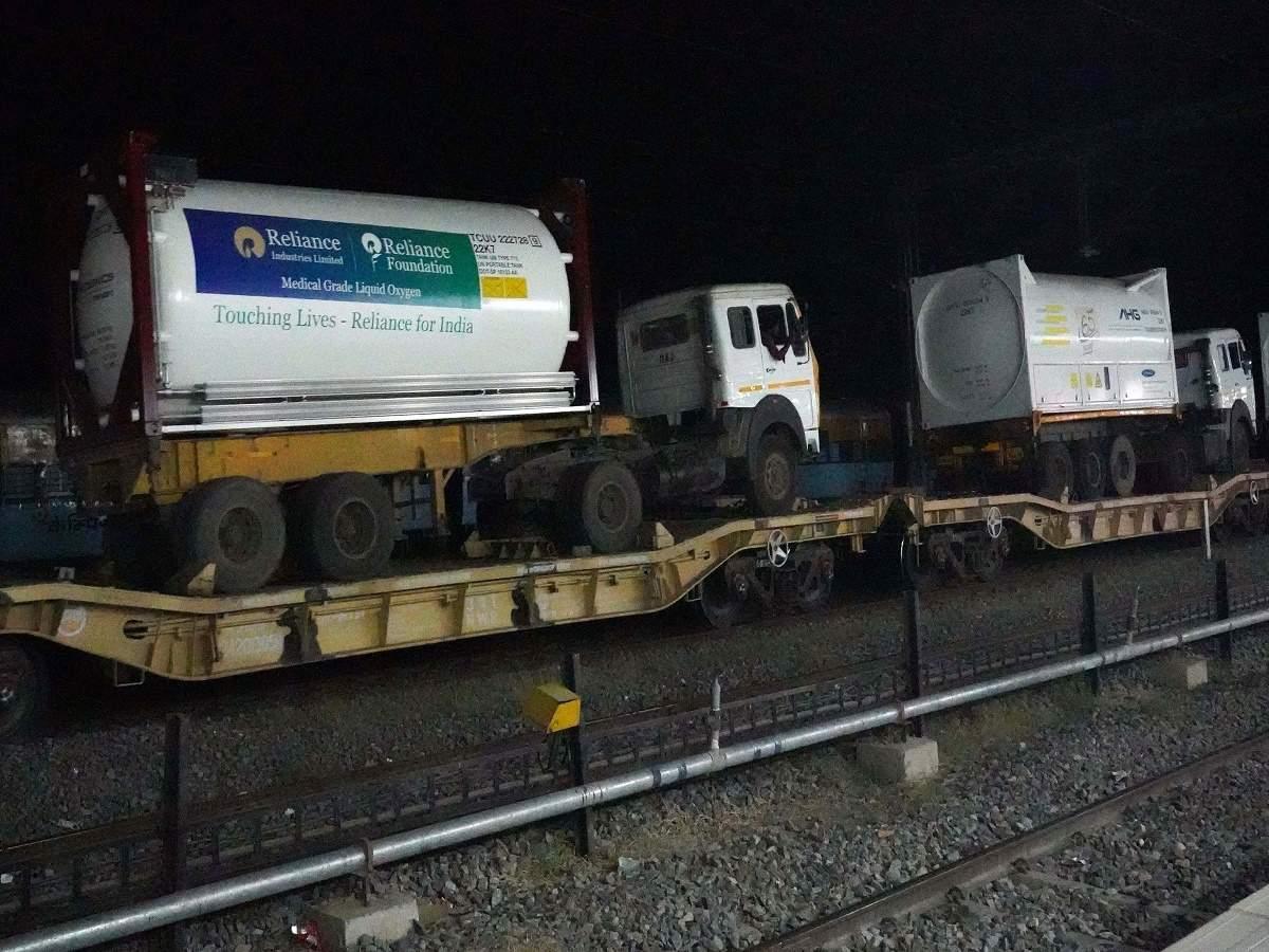 Indian Railways' Oxygen Express to Covid hit Bangladesh