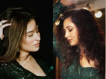 Rashami to Mahira, celebs groove in green