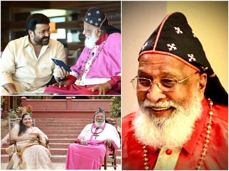 Stars from Mammootty and Mohanlal to Ahaana pay tribute to Mar Chrysostom