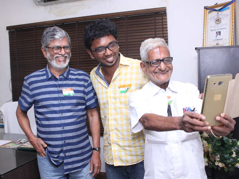 SAC: I made a film on Traffic Ramaswamy as I wanted to celebrate him while he was alive