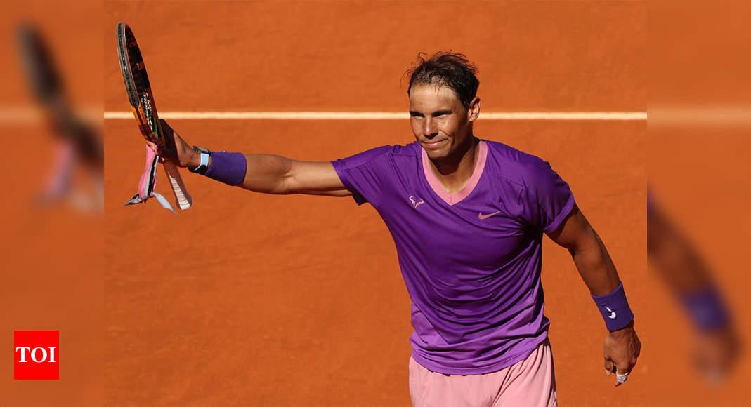 Rafael Nadal cruises into Madrid Open last 16 | Tennis News – Times of India