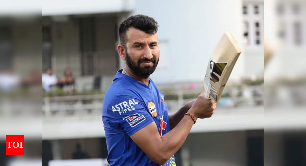 Cheteshwar Pujara says he does yoga, meditation to stay away from negative thoughts | Cricket News – Times of India