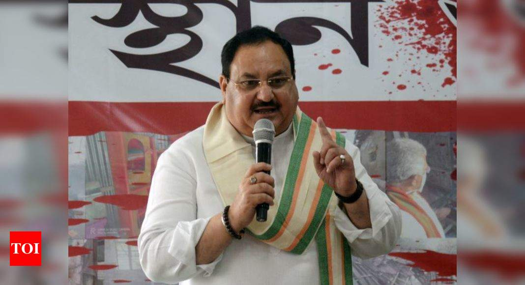 80,000 forced to abandon homes in Bengal: BJP chief Nadda