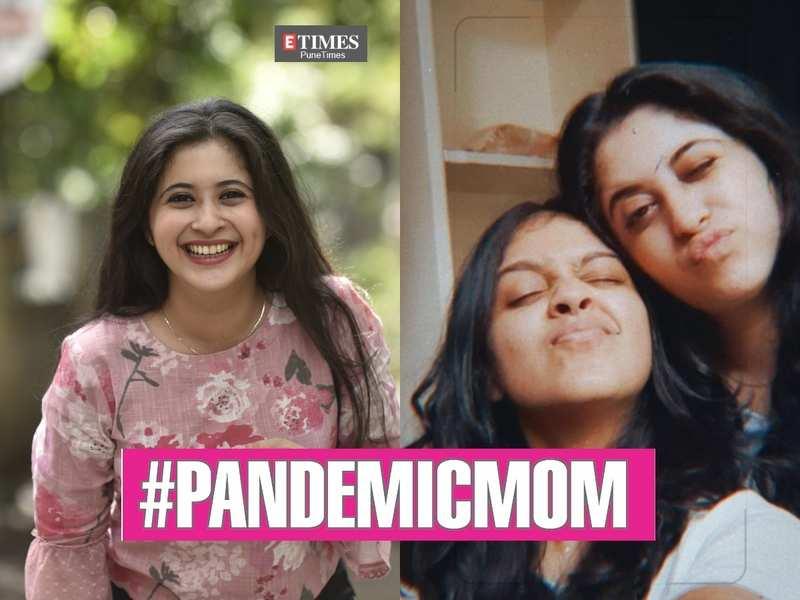 Gayatri Datar with her BFF and #PandemicMom JeejiVisha Kale