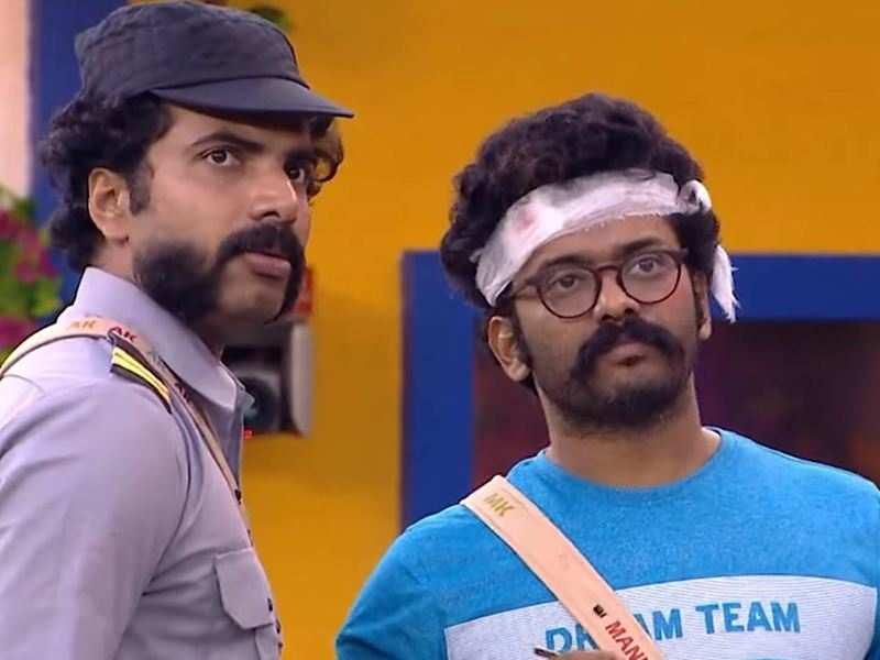 Bigg Boss Malayalam 3: Kidilam Firoz and Anoop get 'murdered' in Bhargavinilayam task, the latter suspects Manikuttan