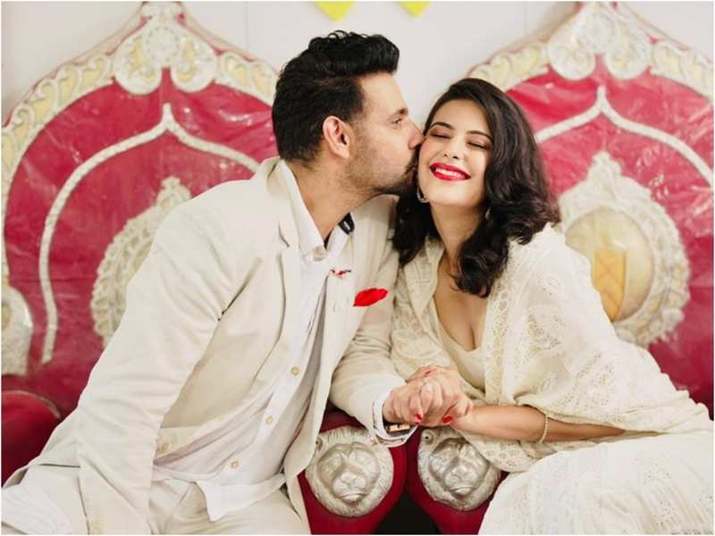Viraf and Saloni, who got engaged in February, got married in court today, with just three people in attendance