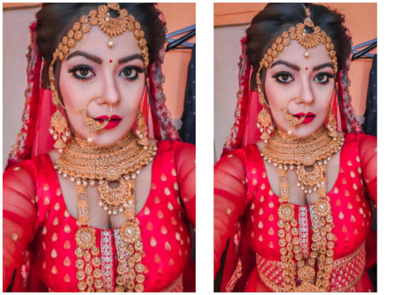 Nidhi Jha's fresh look in bridal attire wins over fans; see photo