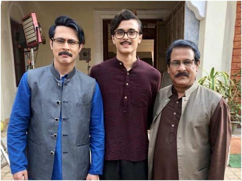 Sudeep Sahir, Ansh Sinha and Rajendra Chawla in Tera Yaar Hoon Main