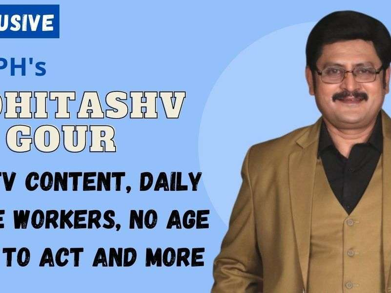 Bhabiji's Rohitashv Gour on shows being shot out of Mumbai: We should take a pause