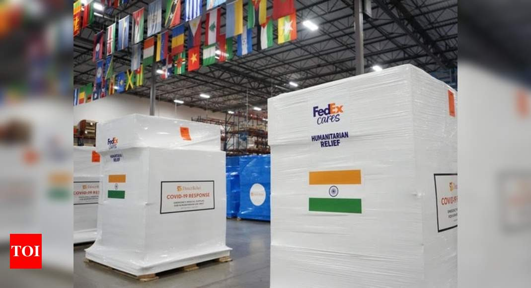 FedEx transporting over 25,000 O2 concentrators & converters to India