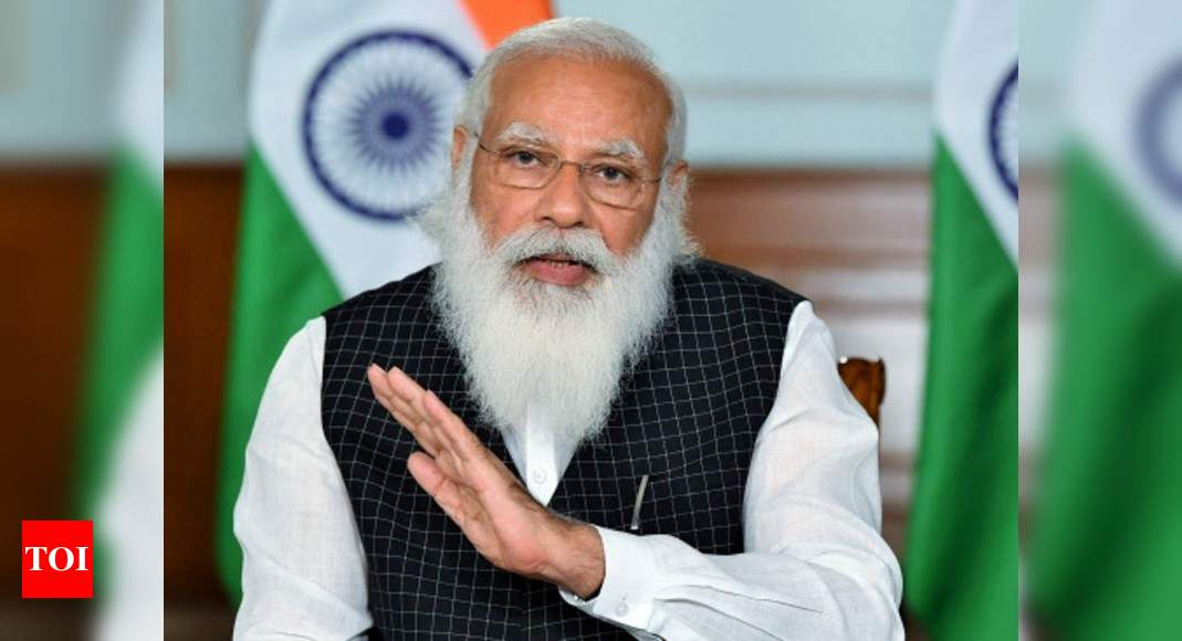 PM Modi talks to four CMs, two LGs on Covid-19 situation