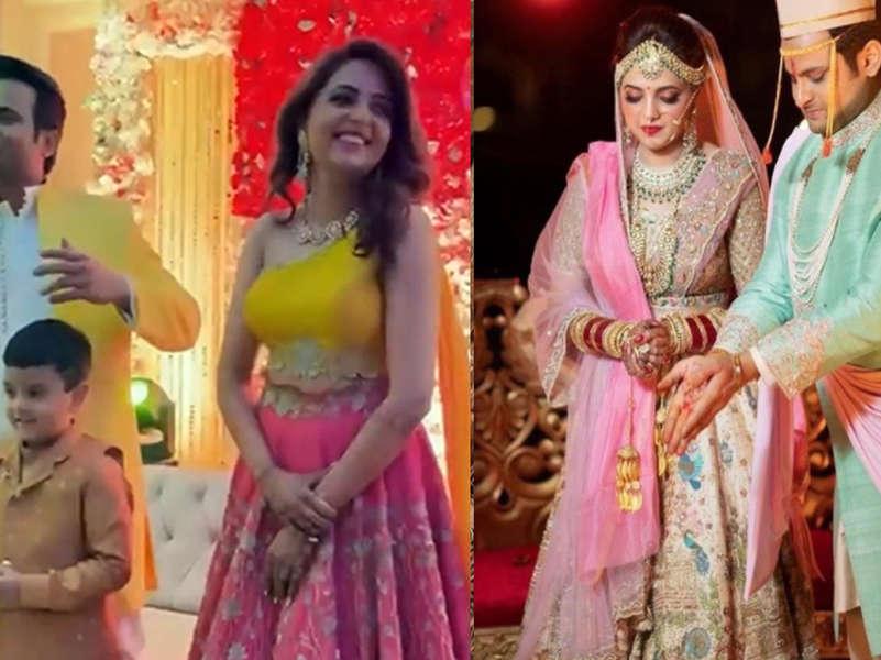 'The Kapil Sharma Show' famed Sugandha Mishra and Sanket Bhoslae booked for violating COVID-19 protocols during their wedding
