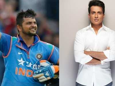 Sonu Sood comes to Suresh Raina's rescue