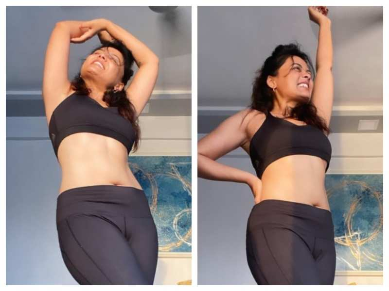Prarthana Behere's post-workout picture is all the inspiration you need to start a fitness routine