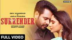 Check Out New Punjabi Song Music Video - 'Surrender' Sung By Afsana Khan