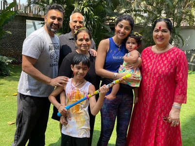 Shilpa Shetty's family tests +ve for Covid
