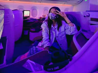 KKK11: Anushka Sen takes off to Cape Town