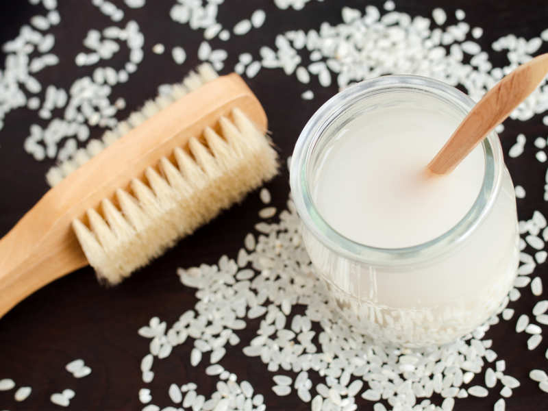 Benefits of fermented rice water in our haircare routine