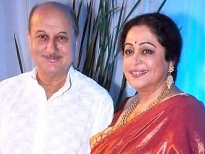 Anupam reacts to Kirron Kher's death hoax